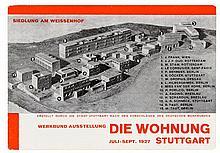 Bauhaus - - Baumeister, Willi. Werkbund Ausstellung