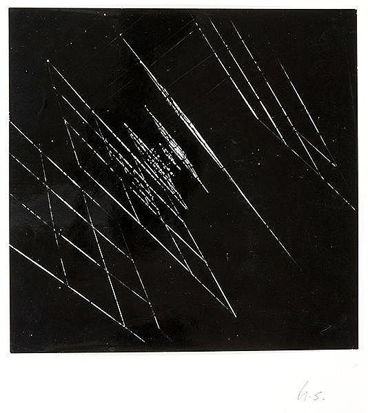 Künstlerphotographie - - Strässer, Herbert. Light structures. Original-Phot
