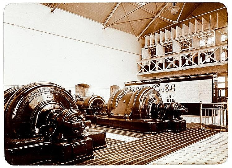 Deutschland - - Kraftwerk Harbke bei Helmstedt. Album mit 47 Original-Photo