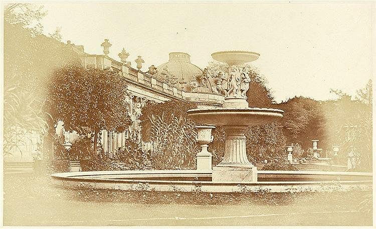Deutschland - Berlin und Potsdam - - Michiels, Johann Franz. Sanssouci von