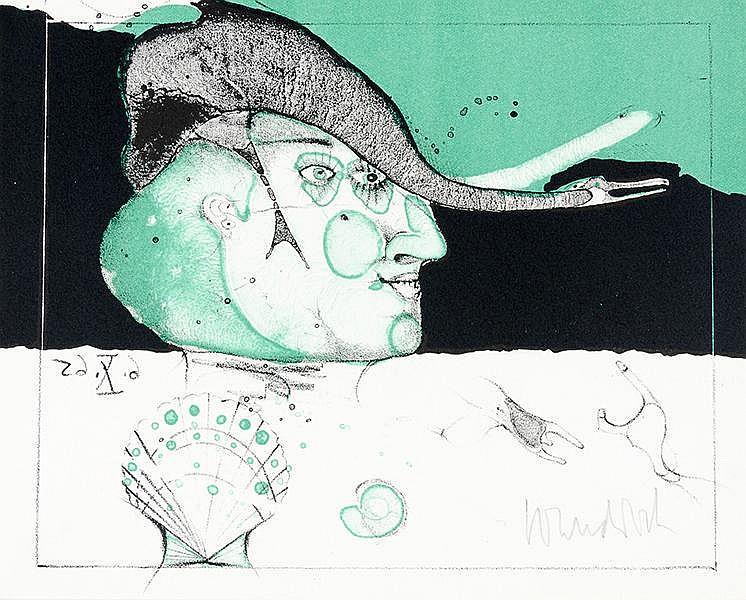 Widmungsexemplare - - Sammlung von 12 Werken bzw. Ausstellungskatalogen mit