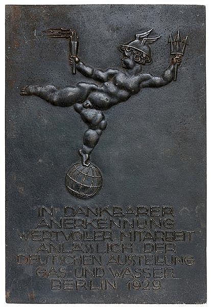 Berlin - - Encke, Eberhard. In dankbarer Anerkennung wertvoller Mitarbeit a