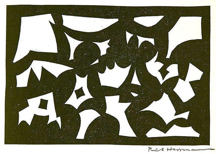 Hermann, Paul. Gruppe Vier. Ausstellungskatalog. Mit zwei signierten Origin
