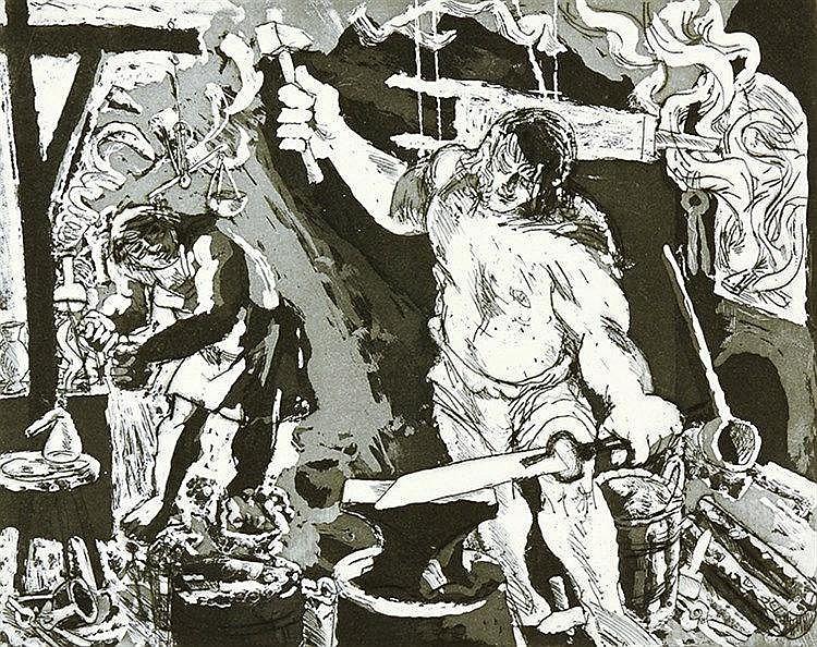Wagner, Richard - - Scherbarth, Günter. Der Ring der Nibelungen. Zyklus von