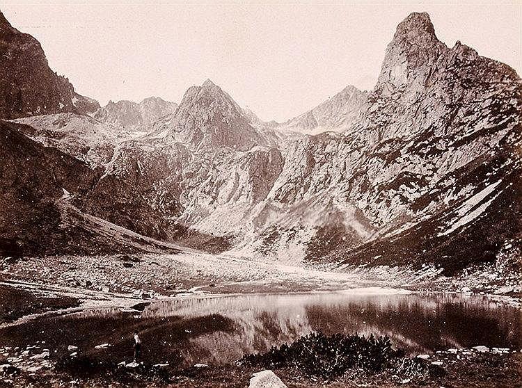 Osteuropa - - Divald, Carl. Bilder der Hohen Tátra. Képek a magas Tátrából.
