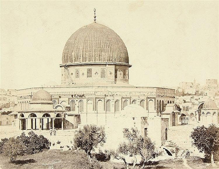 Palästina - - Hammerschmidt, Wilhelm. Album aus Palästina (Deckeltitel: