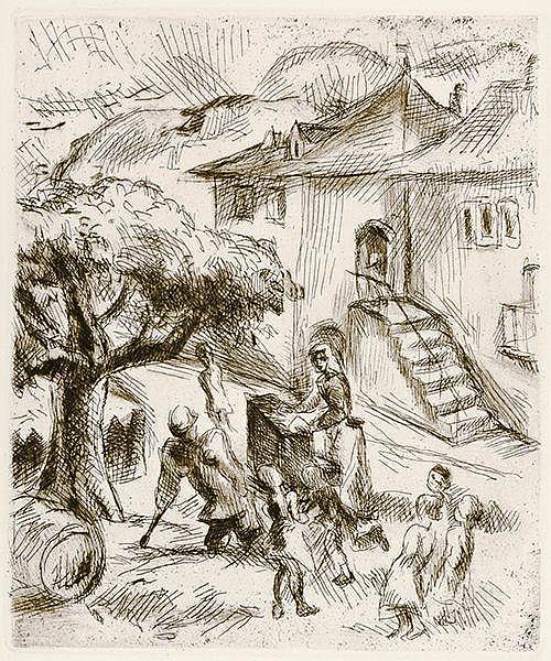 Walser, Robert. Seeland. Mit 5 Original-Radierungen von Karl Walser. Zürich