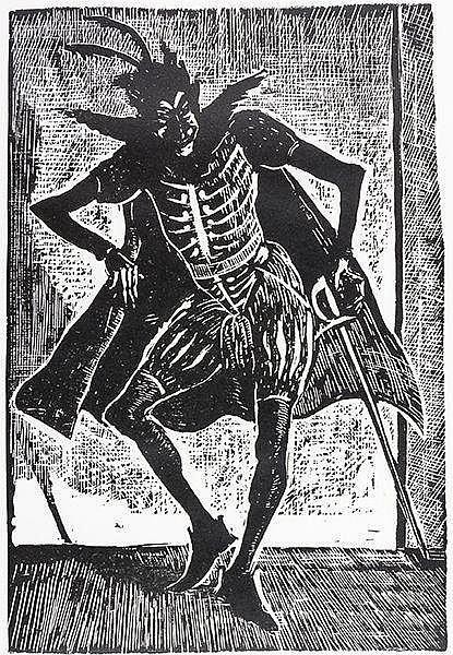 Christensen, Povl. Illustrationer Til Goethes Faust. Mit 47 Original-Holzsc