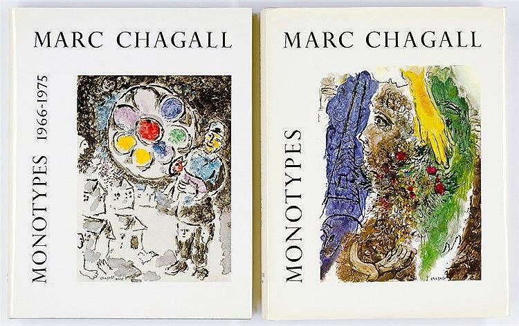 Chagall, Marc - - Leymarie, Jean. Marc Chagall. Monotypes 1961-1965 und 196