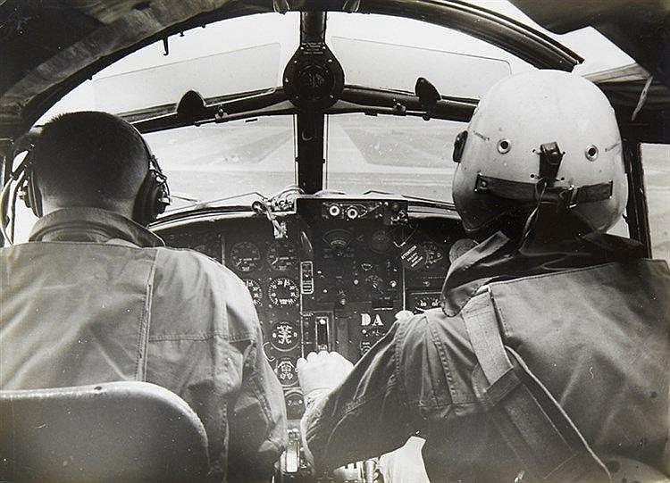 Varia - Luftfahrt - - Album mit 94 Aufnahmen von Flugzeugen. Original-Photo