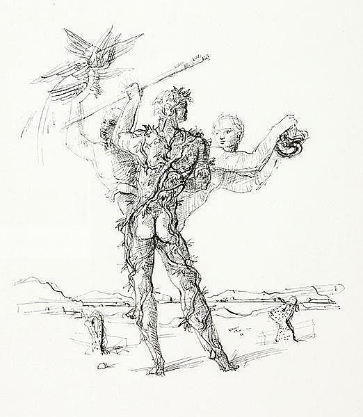 Springer, Ferdinand - - Zollikofer, Johanna. Gedichte. Mit 6 Illustrationen