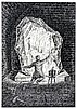 Schwimbeck, Fritz. Sammlung von 5 signierten Original-Federzeichnungen zu H