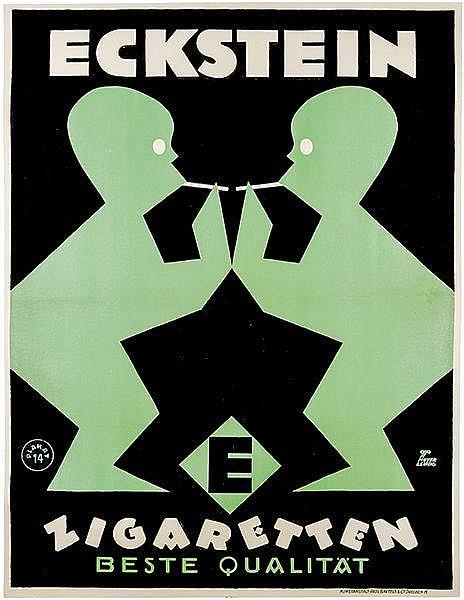 Plakate - - Meyer, G.P. Eckstein Zigaretten - beste Qualität. Plakat Nr. 14
