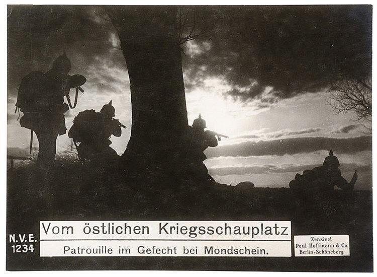 Varia - Weltkrieg 1914-1918 - - Aus grosser Zeit. Album mit ca. 150 Origina