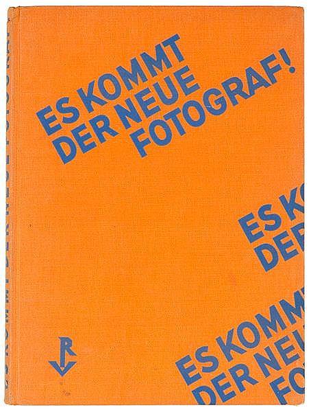 Photobücher - - Gräff, Werner. Es kommt der neue Fotograf. Mit zahlreichen