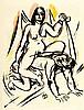 Erotica - - Der Venuswagen. Eine Sammlung erotischer Privatdrucke mit Origi