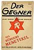 Malik-Verlag - - Der Gegner. Mit dem satirischen Teil