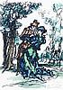 Brucks, Eberhardt. Farbige Originalgraphik zu E. T. A. Hoffmann. Mit 8 vom