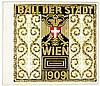 Jugendstil - - Ball der Stadt Wien. 1909. Den Damen Wiens gewidmet vom Ball