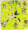 Meggendorfer Blätter - - Umfangreiche Sammlung von über 5600 Original-Tusch
