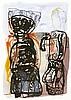 Zylla, Klaus - - Brecht, Bertolt. Vom Mitmensch. Mappe mit 12 (10 beidseiti