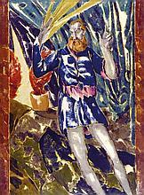 Melzer, Moriz Prediger I. Farbmonotypie auf J