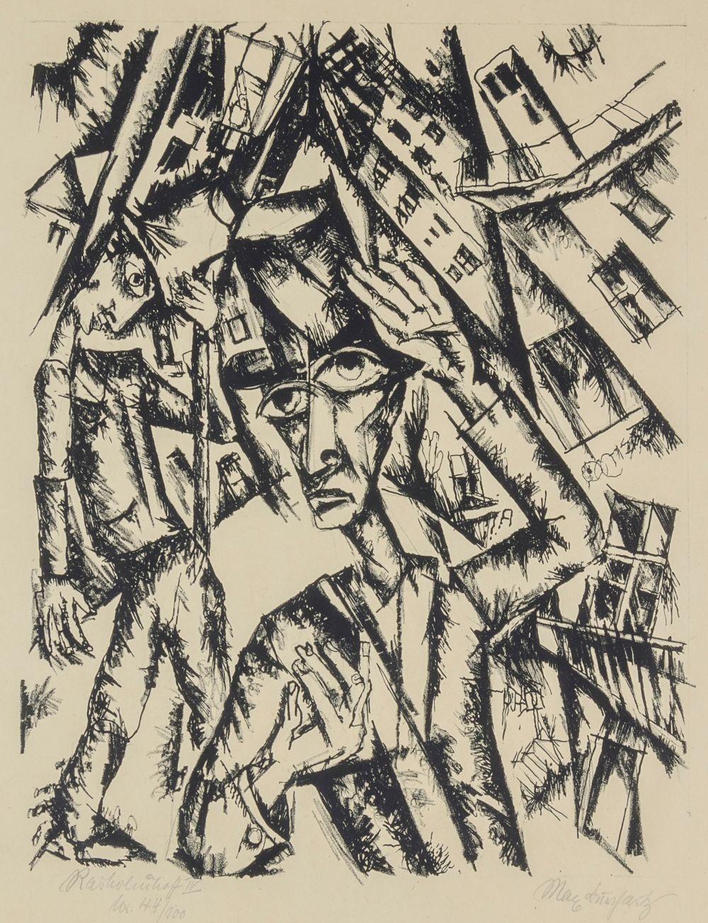 Expressionismus - Burchartz, Max