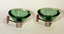 Pair  of wall  lamps Seguso, 1960 ca.