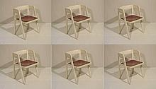 Six chairs Italian Manufacture, 1965 ca.