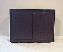 Wood furniture Angelo Mangiarotti, Molteni, 1964