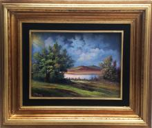 Original Oil on Canvas-Sunset by Espinosa