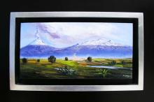 Original Oil on Canvas-Ending the Winter by Espinosa