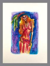 Original Watercolor on Archival Paper by Rene Linares