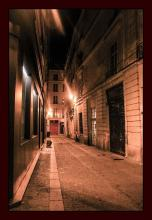 Original Photograph-Paris Street