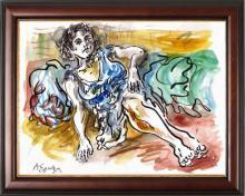 Original Watercolor by Armando Eguiza