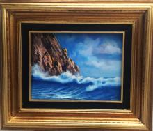 Original Oil on Canvas-Reef by Espinosa