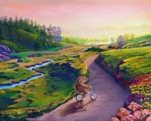Original Oil on Canvas by Raul Basurto