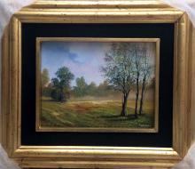 Original Oil on Canvas-Clear in the Woods by Espinosa