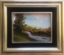 Original Oil on Canvas-Creek by Espinosa
