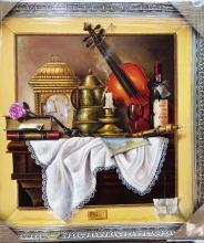 Original Oil on Canvas-Romanticism by Ordonez