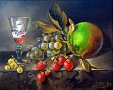 Original Oil on Canvas-Delicacies by Ordonez