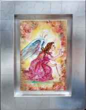 Original Mixed Media on Canvas-Angel
