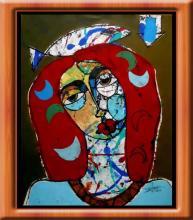 Original Mixed Media by Cuban Artist Juan Marrero