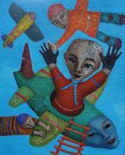 Original Acrylic by A. Romani
