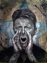 David Bowie-Original High End Oil on Canvas