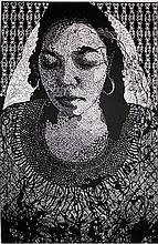 Original Xylograph by Carmen Rodriguez