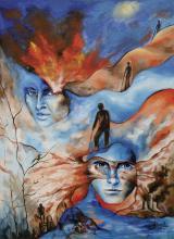Original Acrylic on Canvas-Glenda Jimenez