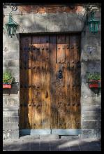 Photograph-The Lucky Doorway-Hand Signed
