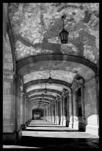 Photograph-Grand Arched Corridor-Hand Signed