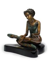 Bronze Sculpture-Sweet Dreaming by Belmonte